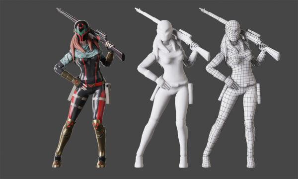 Game Ready 3D Model