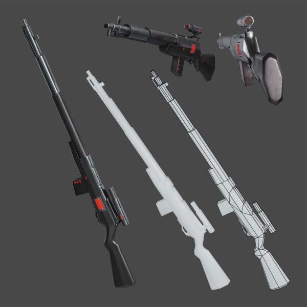 3d Weapon Models